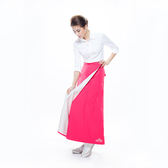【MORR】Rainsk晴雨兩用一片裙【炫藜紅】通勤/機車/兩件式/防曬裙