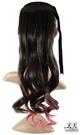 【挑染髮.頭髮增長】綁式(一片)雙染捲假髮片 2/30TT1920 [32157]