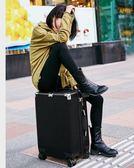 皮箱拉桿箱女20寸行李箱男韓版學生密碼箱包萬向輪旅行箱子igo  提拉米蘇