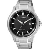CITIZEN Eco Drive 超級鈦 腕錶黑42mm AW1490 84E