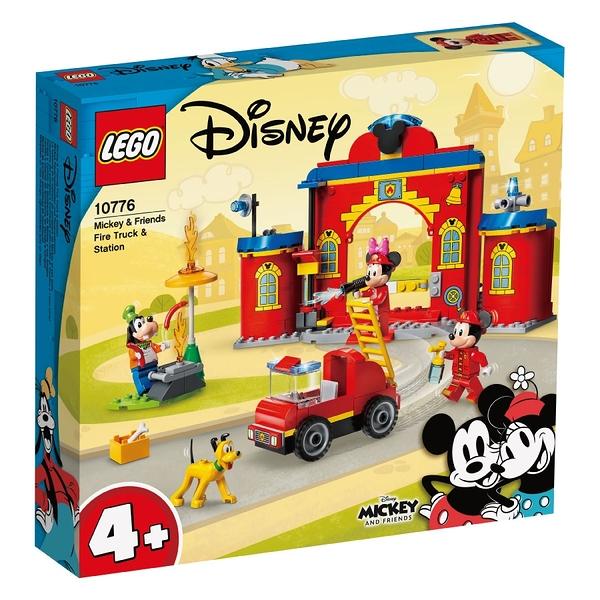 LEGO樂高 10776 Mickey & Friends Fire Truck & Station 玩具反斗城