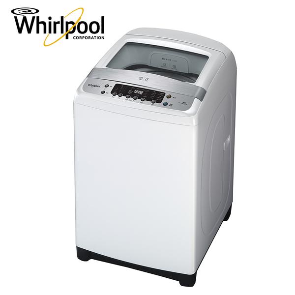 [Whirlpool 惠而浦]15公斤 DD直驅變頻直立洗衣機 WM15HD【送 Wpro 專業級濃縮洗衣精 WPRO-DT】*1瓶