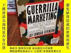 二手書博民逛書店Guerrilla罕見MarketingY12800 Jay C