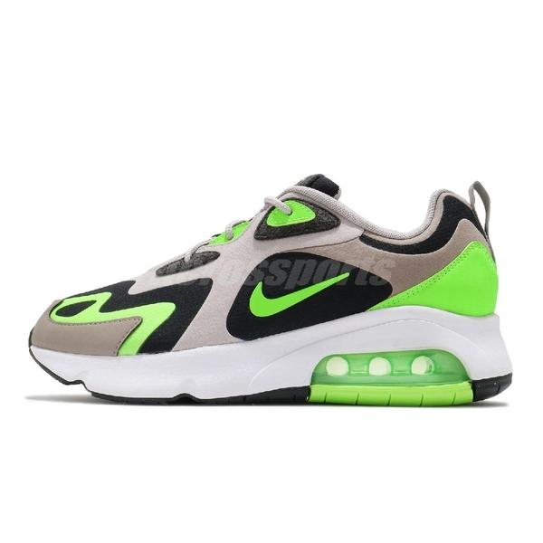 【四折特賣】Nike 休閒鞋 Air Max 200 卡其 黑 綠 氣墊設計 男鞋 運動鞋 【ACS】 CQ4599-041