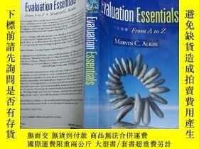 二手書博民逛書店Evaluation罕見Essentials: From A t