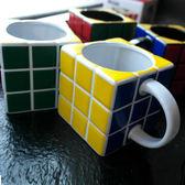 創意魔方造型馬克杯個性搞怪男女潮流陶瓷杯辦公室茶杯送情侶禮物台秋節88折
