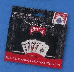 【USPCC撲克館】撲克牌BICYCLE 808 COLLETIBLE TIN