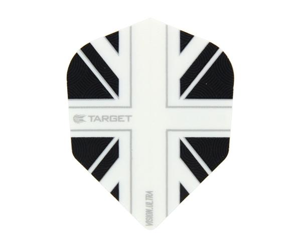 【TARGET】VISION ULTRA SHAPE UnionJack White 331450 鏢翼 DARTS