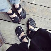 涼鞋 新款情侶沙灘鞋潮涼鞋夏軟底休閒鞋開車越南涼鞋(2色35-44)