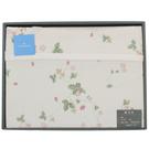 WEDGWOOD繽紛田園野莓毛蓋毯禮盒(檸檬黃)084619-1