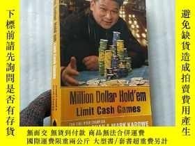 二手書博民逛書店Million罕見Dollar Hold em(Limit Ca