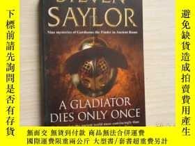 二手書博民逛書店A罕見GLADIATOR DIES ONLY ONCE【003】