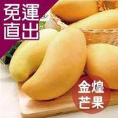 沁甜果園SSN. 台南金煌芒果(6-8顆裝,10台斤/箱)E00900069【免運直出】