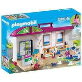 playmobil 帶著走 獸醫診所_PM70146