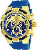 【INVICTA】繩索系列 - 三眼計時腕錶 - 藍金新繩索