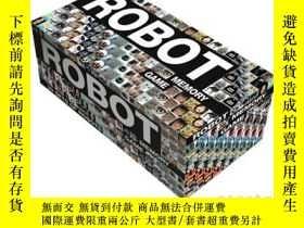 二手書博民逛書店Robot罕見memory game 機器人記憶遊戲 英文原版Y