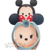 〔小禮堂〕迪士尼 Tsum Tsum 造型壓克力手機指環架《米奇米妮.堆疊》可360度旋轉 8039311-10107