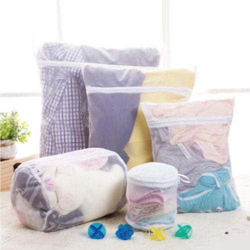 Qmishop 魔法方型大件洗衣袋 厚實立體蜂巢式衣物收納袋 密網40x50cm【J042】