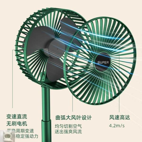 億寶優充電小風扇折疊便攜小型學生宿舍桌面臺式搖頭創意USB風扇