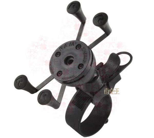 【尋寶趣】UN7萬用X-GRIP手機托架含EZ-Starp快拆單車把手固定架RAP-SB-187-UN7U