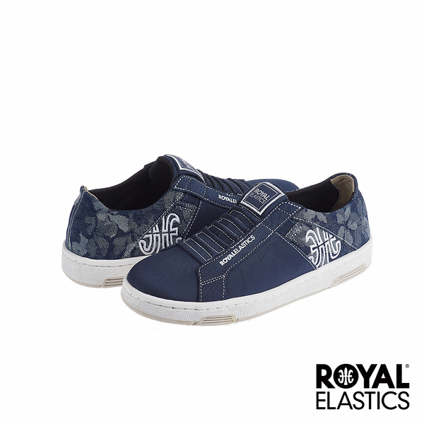 Royal Elastics Icon Washed 經典運動鞋-單寧藍