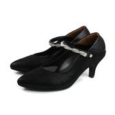 HUMAN PEACE 低跟鞋 瑪莉珍鞋 黑色 女鞋 073515AB no336
