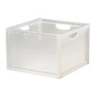 [家事達] 樹德 KD-2638  巧拼收納箱6入/箱-本透色  資料筒 / 收納箱  特價