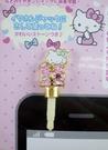 【震撼精品百貨】Hello Kitty 凱蒂貓~KITTY耳機防塵塞-英文字母H