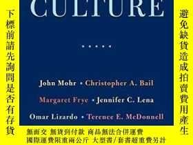 二手書博民逛書店Measuring罕見CultureY256260 John W. Mohr Columbia Univers