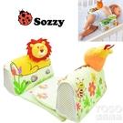 小動物款定型枕0-12個月寶寶側睡枕嬰兒枕頭青蛙款 『優尚良品』