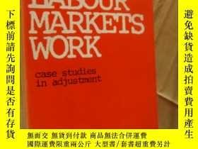 二手書博民逛書店how罕見labour markets work:case studies in adjustmentY146
