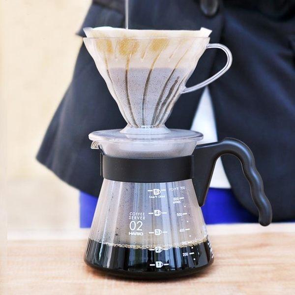 咖啡機 耐熱玻璃滴濾式套裝V60繫列手沖咖啡套裝