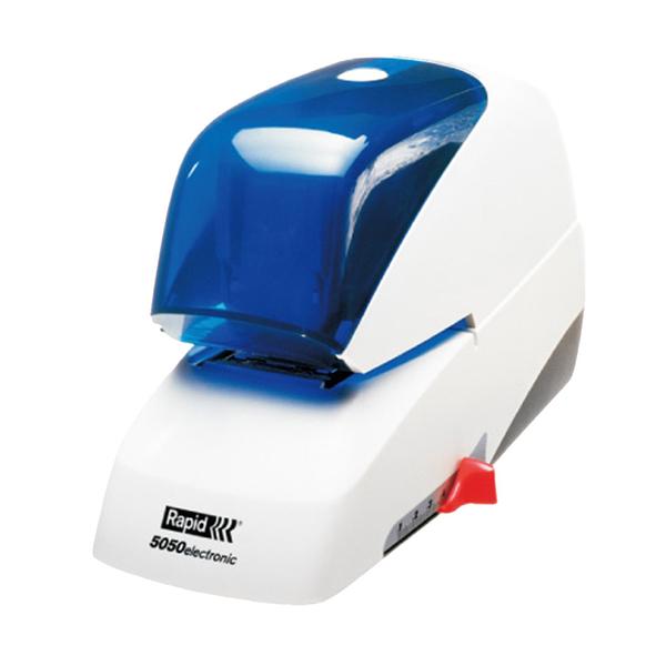 【高士資訊】RAPID 瑞典 5050 平針 電動 訂書機 釘書機