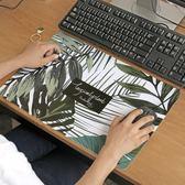 ZAA 綠意盎然多功能磨砂桌墊大 防水防滑餐墊滑鼠墊子 辦公