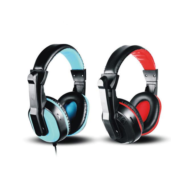 耳罩式耳機 電腦耳機頭戴台式PC大耳罩游戲電競耳麥網吧帶麥克風話筒舒適