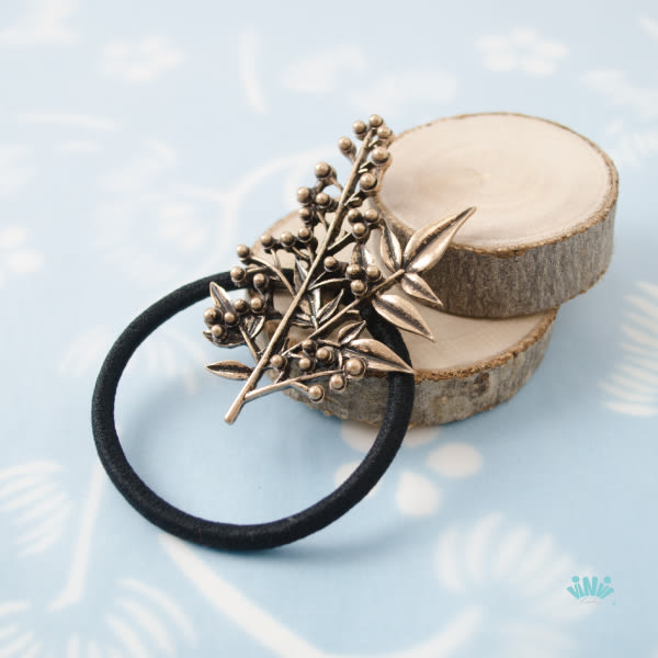 viNvi Lady 枝葉與果實合金髮圈 髮束 髮飾