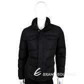 GUCCI 黑色口袋設計羽絨外套 1510622-01