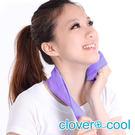 里和Riho 小領巾 冰涼巾 路跑巾 蜜桃粉 瞬間涼感多用途 SGS檢測不含塑化劑 台灣製造 冰領巾