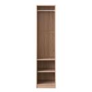 衣櫃 間隙櫃 收納【收納屋】波里開放式二層衣櫥& DIY組合傢俱