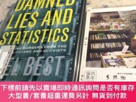 二手書博民逛書店英文原版罕見damned lies and statistics : untangling numbers fro