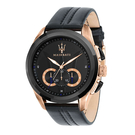 MASERATI WATCH 瑪莎拉蒂手錶 R8871612025 經典三環黑金款 錶現精品 原廠正貨