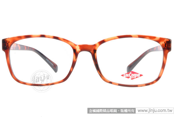 Lee Cooper眼鏡 LE1215 C11(琥珀) 經典牛仔褲風格 平光鏡框 #金橘眼鏡