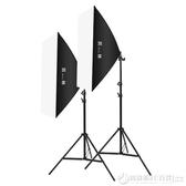 凱林攝影棚補光燈拍照柔光燈箱產品拍攝道具套裝小型便攜器材40/60/80/100cm    《圓拉斯》