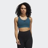Adidas DON'T REST 女款藍色運動內衣-NO.GM2791