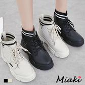 靴子.韓風厚底短靴登山靴