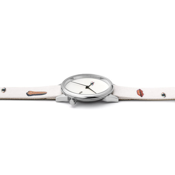 KOMONO X Magritte Estelle系列聯名腕錶-國王博物館/36mm