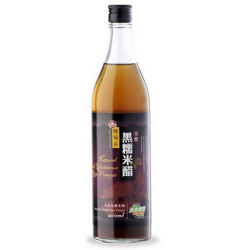 陳稼莊 黑糯米醋 600ml/瓶 天然手工酵釀米醋.100%使用良質黑糯米~