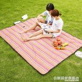 野餐墊戶外野炊墊子野餐布草地墊露營沙灘墊便攜防潮墊加厚地墊 igo 『名購居家』