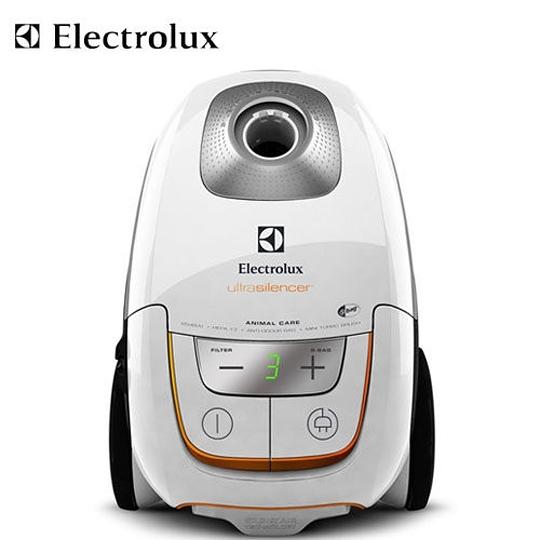 (特別賣場)【伊萊克斯】超靜音吸塵器UltraSilence 送風動吸頭+集塵袋