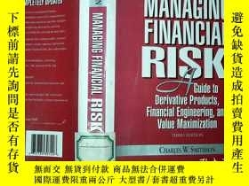 二手書博民逛書店MANAGING罕見FINANCIAL RISKY198833
